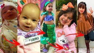RETROSPECTIVA ANIMADA INFANTIL DE ANIVERSÁRIO 5 ANINHOS CHILDREN'S RETROSPECTIVE - CLUBINHO DA LAURA