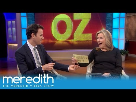 AGT's Oz Pearlman Shocks Meredith With His Spot-On Reading! | The Meredith Vieira Show