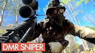 DMR Novritsch - My First Game With a SemiAuto Sniper