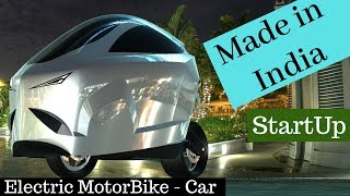 Made in India Electric Car-Motorcycle StartUp | SINA MOBILITY