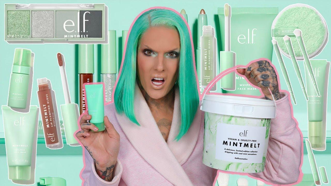 E.L.F. Mint Melt Makeup.. Is It Jeffree Star Approved?!