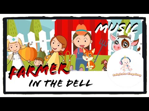 Farmer In The Dell Instrumental (Song Only) 2018 - [Easy Listenin] Popular Nursery Rhymes For Kids