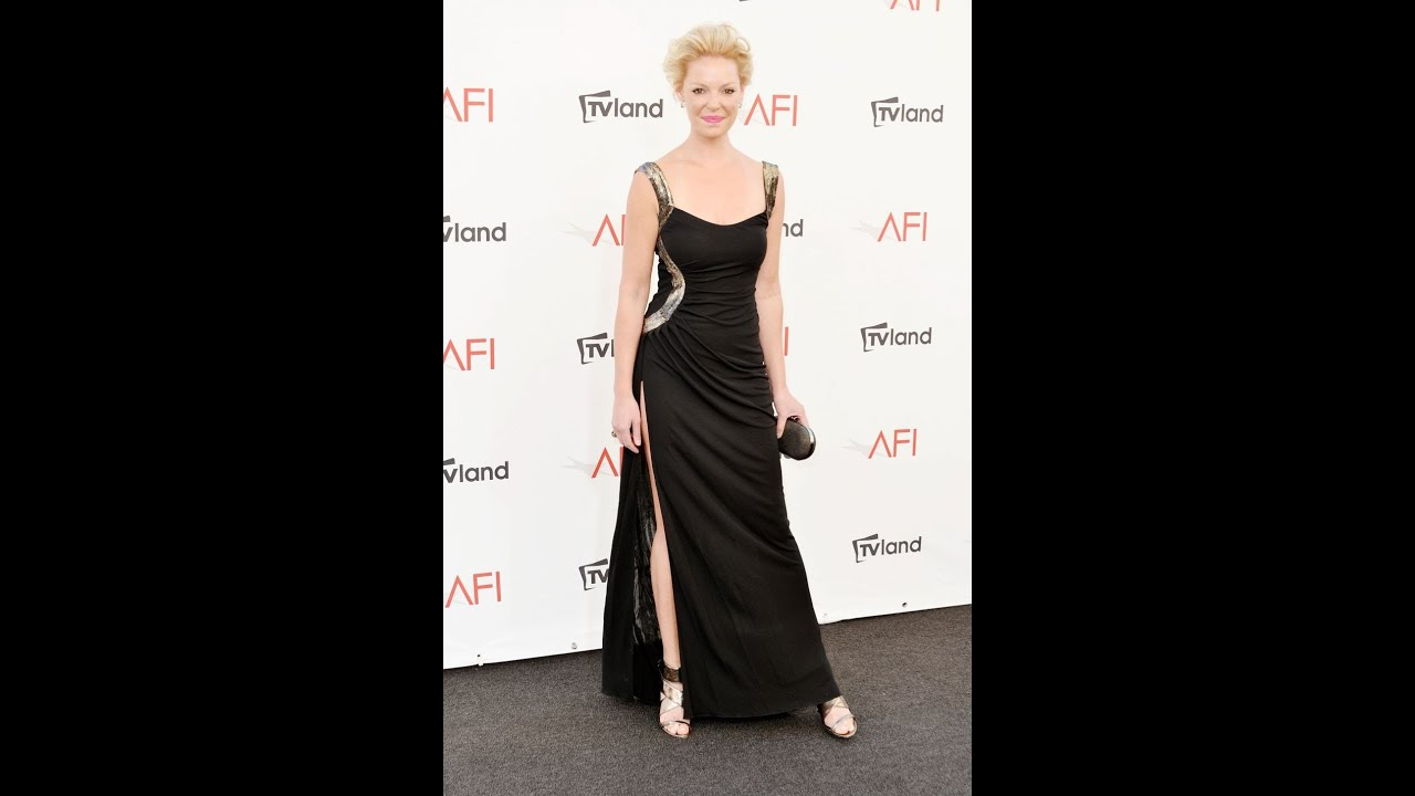 Katherine Heigl's Sexy Red Carpet Gown!