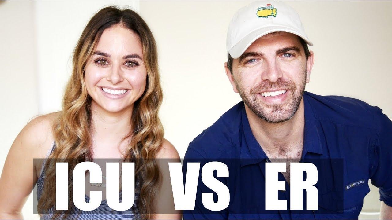 ICU NURSES vs ER NURSES - YouTube