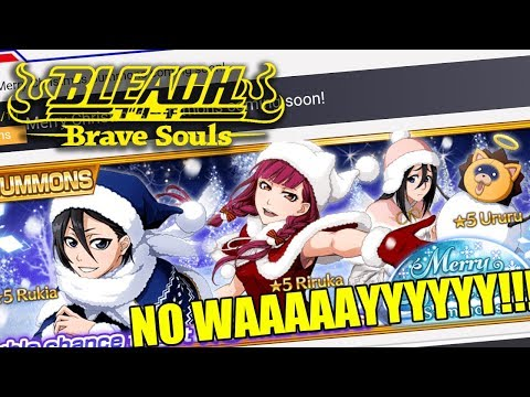 Bleach Brave Souls (NEWS): CHRISTMAS CHARACTER HYPE!!!!!!