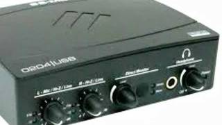 audiointerface and latency E-MU 0204 USB Pt1