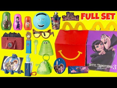 Hotel Transylvania 3 McDonald's Happy Meal Toys