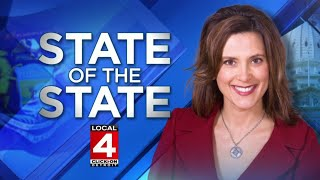 Michigan Gov. Whitmer delivers first State of the State