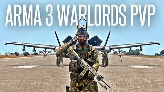 WARLORDS PVP ACTION! - ArmA 3 New Competitive Gamemode