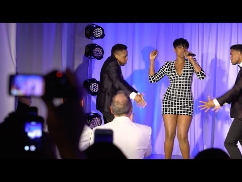 Jennifer Hudson Crashes Wedding!