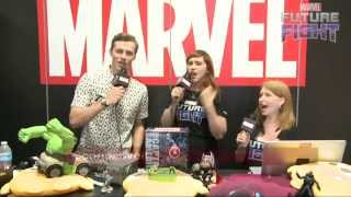 Scream with Connor Weil on Marvel LIVE! at San Diego Comic-Con 2015