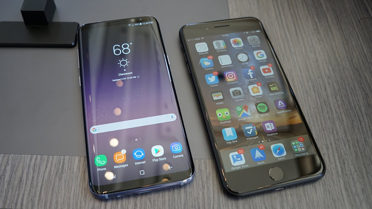 Впечатляющие Samsung Galaxy S8 или iPhone 7 - конкурс!