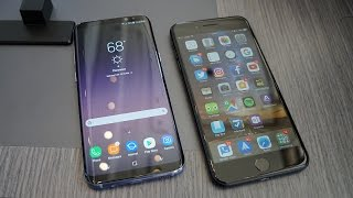 Samsung Galaxy S8+ vs iPhone 7 Plus: The future vs the past