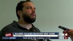 Southwest Florida veteran receives mortgage free home