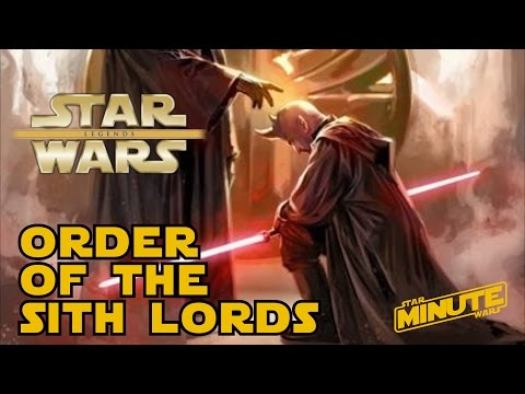 The Sith Lineage of Darth Bane and the Rule of Two (Legends) - Star Wars Explained