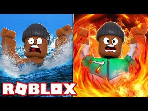 BURN OR DROWN TO DEATH?! - Roblox Would You Rather (New Update)