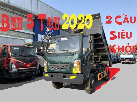 XE BEN TMT 5 TẤN 2 CẦU SIÊU KHỎE VƯỢT ĐỒI NÚI | BEN TMT CỬU LONG KC7050D2 EURO 4 ĐỜI 2020