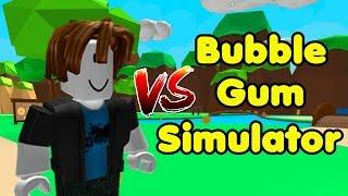 Noob VS Bubble Gum Simulator! Funny Edition