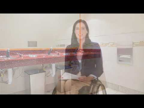 Bobrick Accessibility Video -- Mounting Height and Reach Ranges