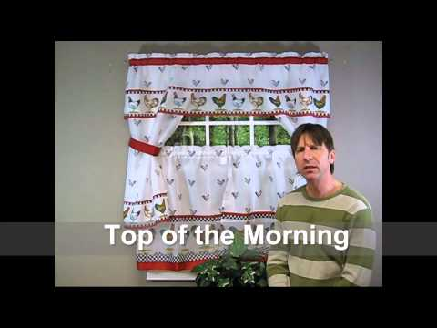 Complete Kitchen Curtain Sets - Explained