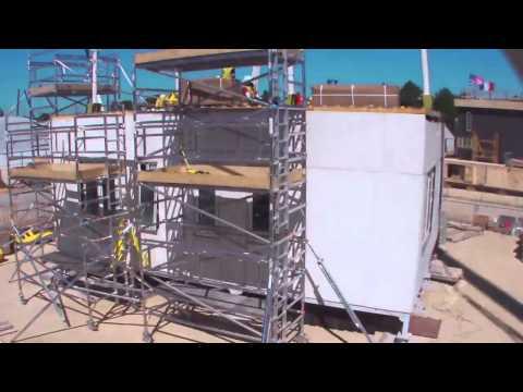 Team Shunya Versailles Construction Timelapse