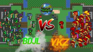 Rucoy Online [GUILD WAR]  -  BDJL vs YKZ  :  Top Guilds Global
