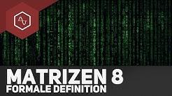 Formale Definition einer Matrix – Matrizen 8 ● Gehe auf SIMPLECLUB.DE/GO & werde #EinserSchüler