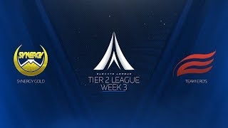 Elevate League Tier 2 | Week 3 | Synergy Gold vs. Team Eros
