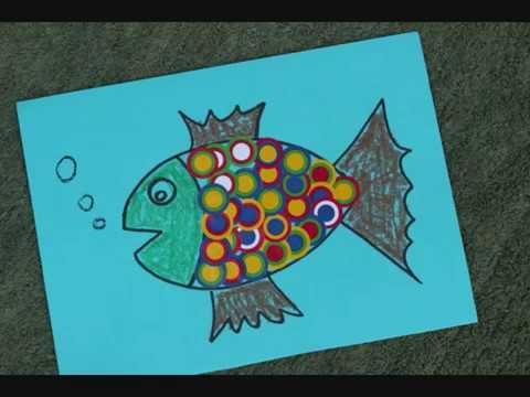 דג ממדבקות