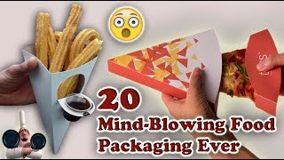 Top 20 Mind-blowing Food Packaging. (Part 1).