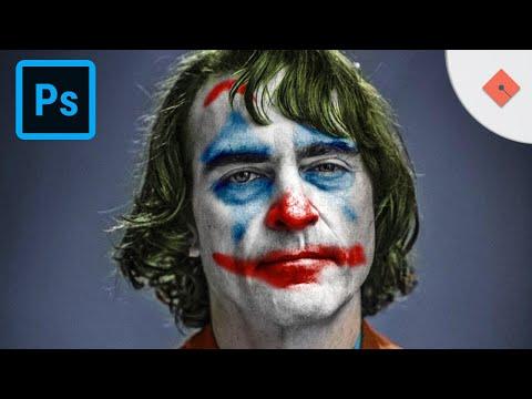 Joker Maskesi Oluşturma - Photoshop ile Hemen Yap thumbnail