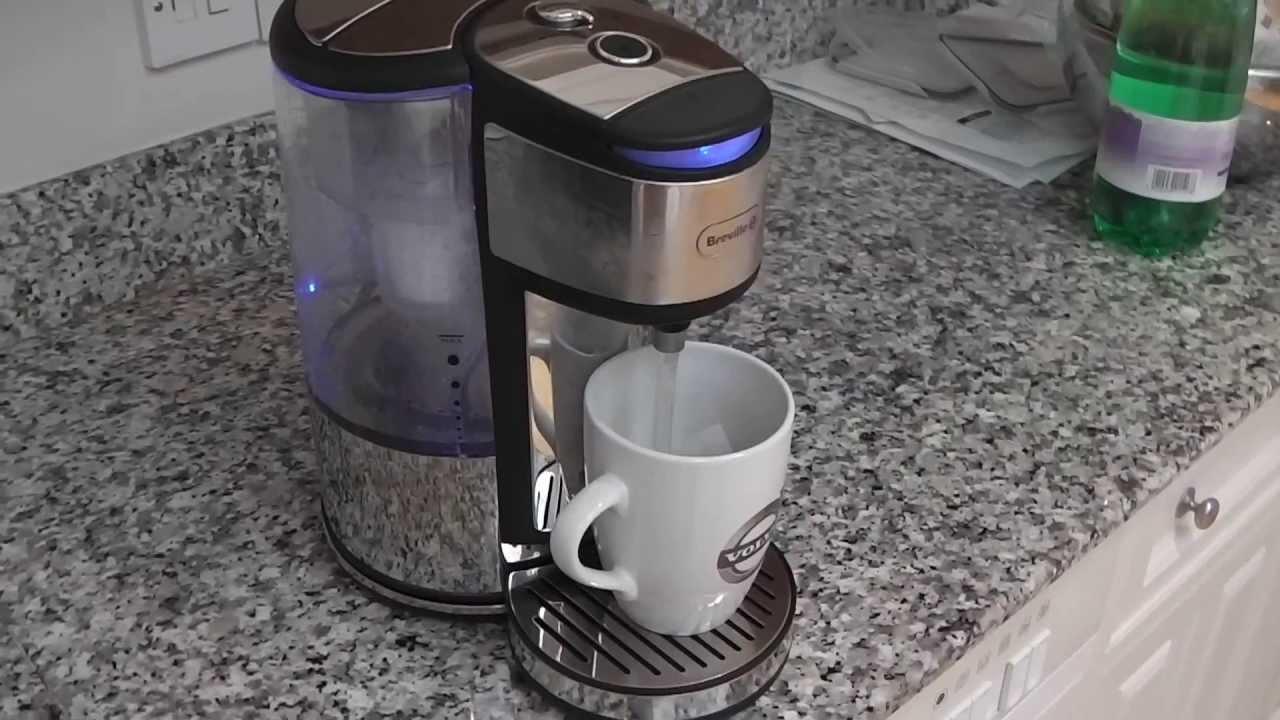 breville vkj367 brita hot cup water dispenser youtube. Black Bedroom Furniture Sets. Home Design Ideas