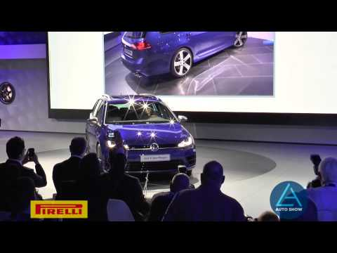 Golf Sportwagen HyMotion Makes Global Debut at the 2014 Los Angeles Auto Show