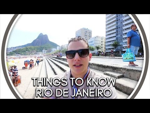 Things to Know Before Visiting Rio de Janeiro