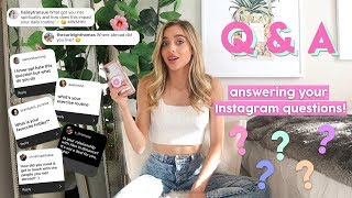 ANSWERING YOUR QUESTIONS! | USC, model life, traveling solo, starting my own business |