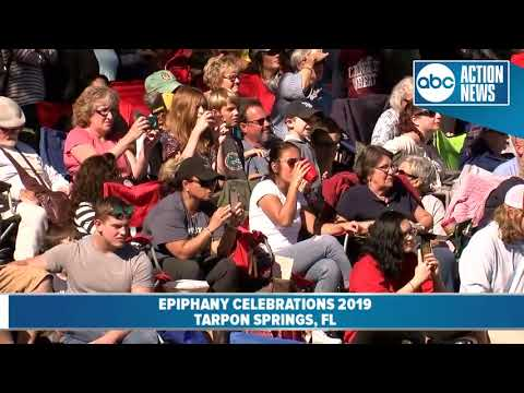 113th Annual Epiphany Celebration in Tarpon Springs