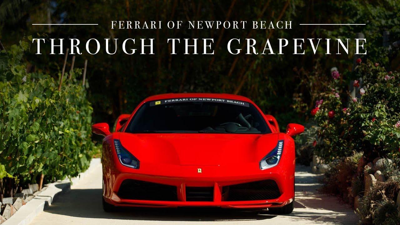 Ferrari 488 Gtb Through The Grapevine Youtube
