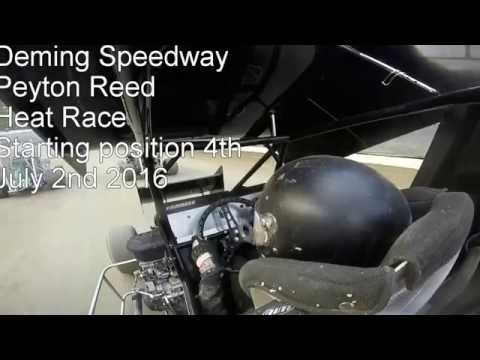 Peyton Reed 600 Open Deming Speedway - Hot laps, Qualifying and Heat Race
