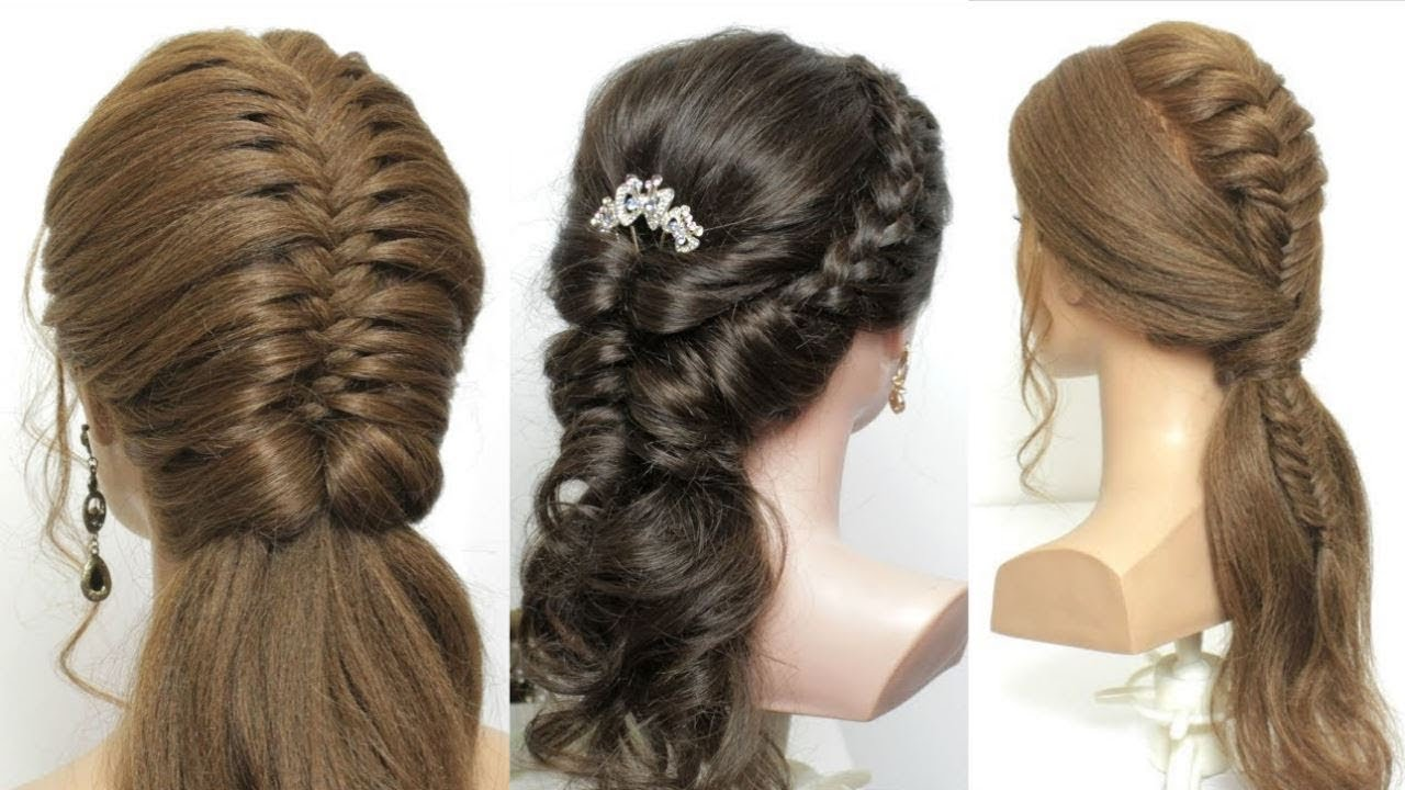3 Braided Half Up Half Down Hairstyles For Long Hair