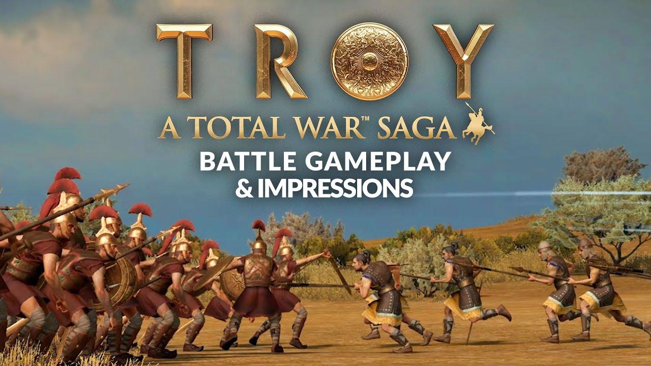TOTAL WAR SAGA: TROY | Battle Gameplay & Impressions - YouTube