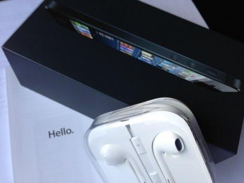 First Look Black iPhone 5 16Gb Sprint