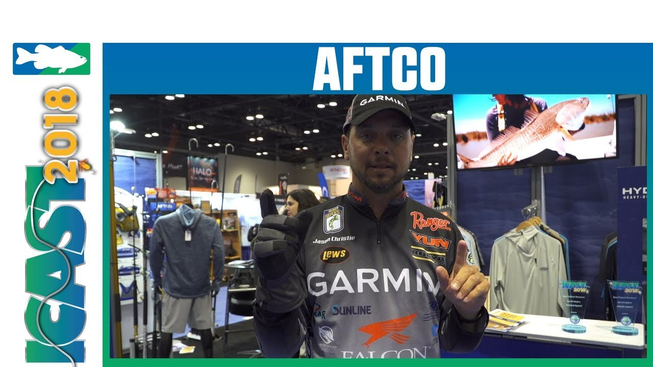 Aftco Hydronaut Waterproof Glove with Jason Christie | iCast 2018