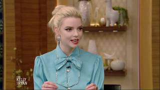 Anya Taylor-Joy Learned English When She Was 8