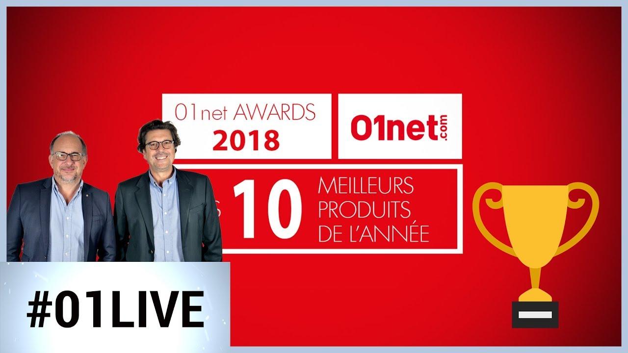 01Live Hebdo # 207 : Les résultats des 01net Awards