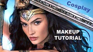 Wonder Woman Makeup Transformation - Cosplay Tutorial