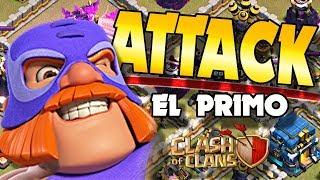 Clan War Leagues El Primo Attack | Can I 3 Star This TH12 | Clash of Clans