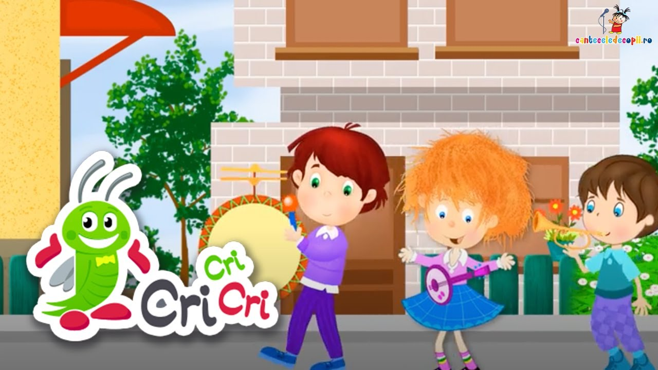 Muzica e o minune - Cantece pentru copii | CriCriCri