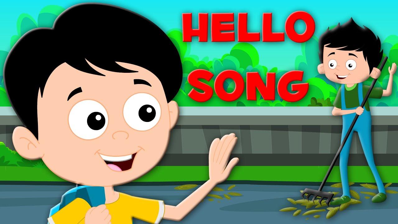 Hello Song Original Rhymes Nursery Rhymes Kids Songs