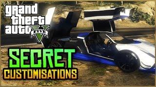 GTA 5 Online - BEST Secret & Rare Vehicle Customisations in GTA 5 Online!