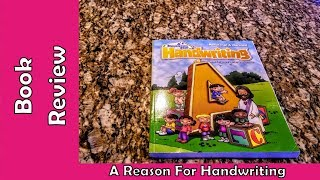 A Reason For Handwriting Book Review